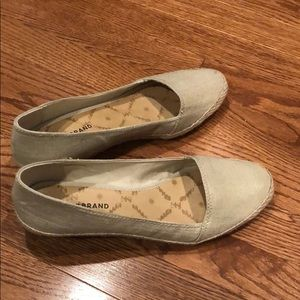 Lucky Brand Canvas Wedge